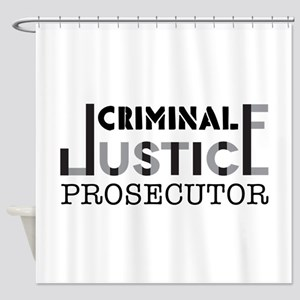 Prosecutor Shower Curtain